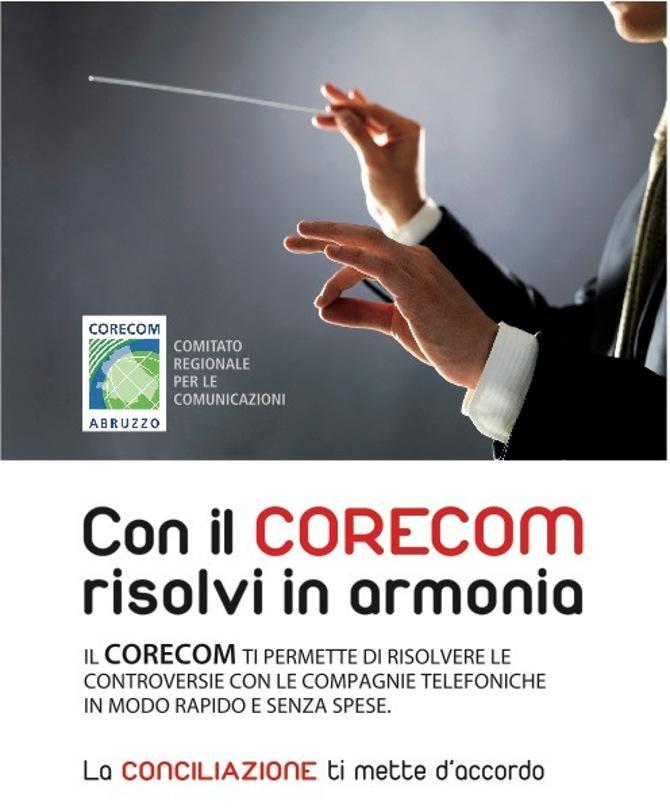 Con il Corecom risolvi in armonia